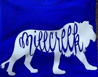 Customized School Mascot Shirts