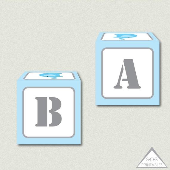 Blue Baby Shower Favor Boxes : Blue elephant favor boxes box baby shower