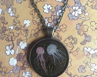 Whimsical Jellyfish Necklace