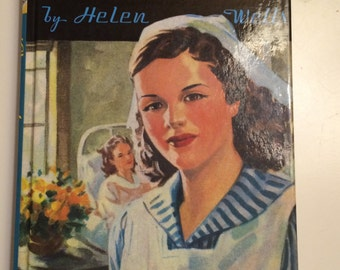 Cherry Ames Student Nurse by Helen Wells Young Adult book mystery