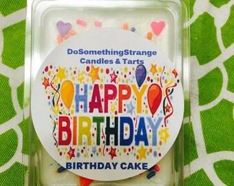 Happy Birthday Cake Soy wax melt Tarts