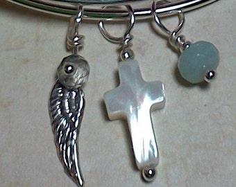 Wing 'N Prayer Bangle