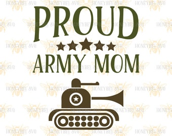 """Shop """"army mom"""" in Craft Supplies & Tools"""