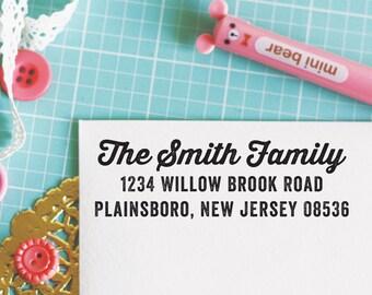 Custom Personalized Address Stamp - EMILY Style