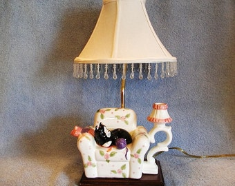 Table Lamp - Cat Themed