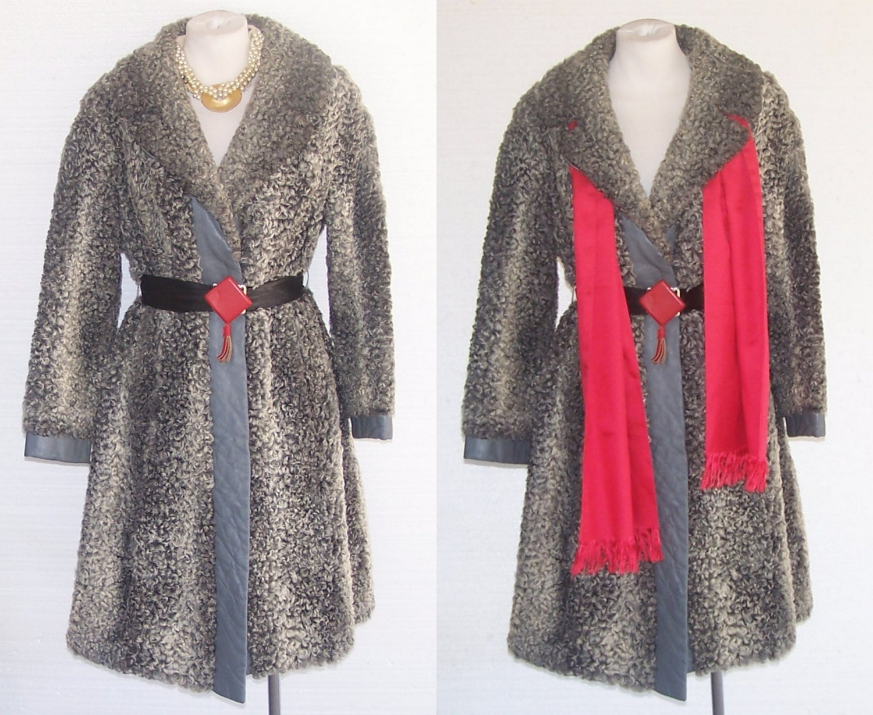 Vintage Coat TN-O persan de fourrure dagneau Slickstar