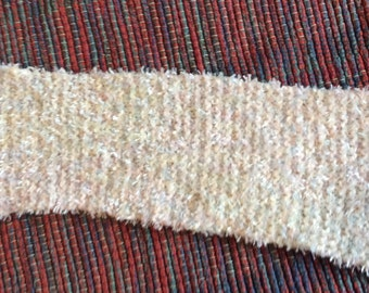Hand Knit Baby Scarf