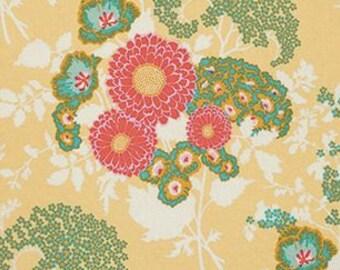 Joel Dewberry Botanique 'Bold Bouquet' in Butternut Cotton Fabric