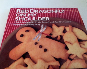 Red Dragonfly On My Shoulder by Sylvia Cassedy and Kunihiro Suetake - 1st Edition 1992