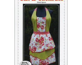 """Pattern """"Tea & Crumpets"""" Apron Pattern by Sew Much Good (SMG408) Paper Pattern"""