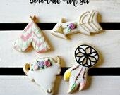 Small Boho Country Sugar Cookies - 2 Dozen