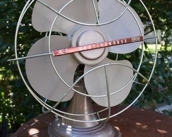 Vintage Westinghouse 14 Inch Oscillating Fan
