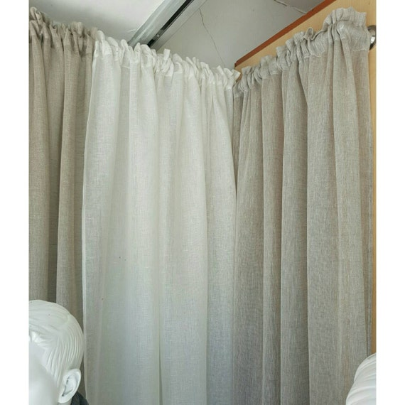 Sheer Linen Curtains Grey Linen Curtains And: Sheer Linen Fabric By The Meter, Linen For Curtains