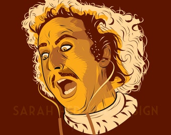 Gene Wilder Young Frankenstein Poster - Look Normal