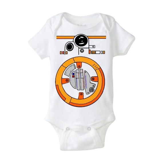 Star Wars Nerd Gift: BB8 Star Wars Baby Shower Gift Force Awakens Cool By Millwell