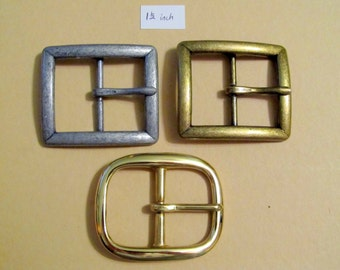 Buckle Choices for each width - Not For Sale