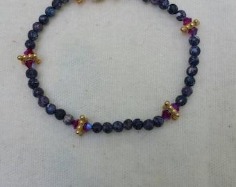 beaded bracelet - delicate