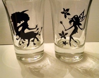 Fairy shot glasses