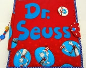 Quiet book Dr. Seuss inspired  for children// handmade// busy book// fox in socks//cat in the hat//Lorax//Horton hears a who