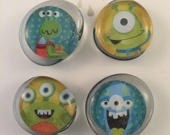 Monster Magnets, Set of 4
