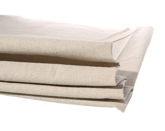 """Cotton & Linen Fabric Natural Sewing DIY Cloth Approx 158cm(62 2/8"""") x 92cm(36 2/8"""") , 1 Yard"""