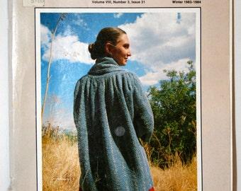 Vintage, The Weaver's Journal, magazine, winter 1983, issue 31