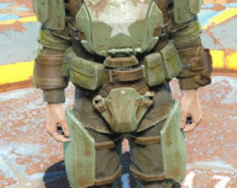 Fallout 4 - Combat Armor Medium - EVA Foam Template