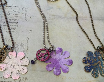 Flower Power Necklaces I