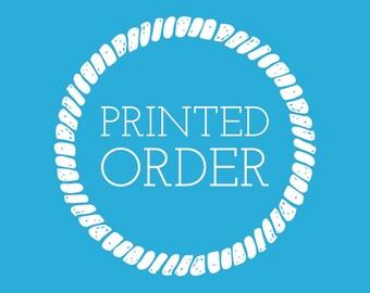 Printed Order