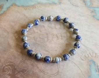 Egyptian lapis lazuli bracelet