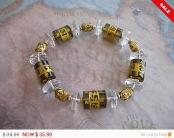 Golden (Buddha) Aum Bracelet