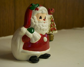 Vintage Santa Napcoware Coin/Money Bank/Coin Bank/FWB
