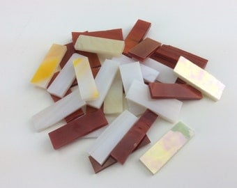 Mosaic Borders - glass tiles 30 pieces