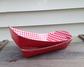 Serve Food To-Go in Our Large Selection of Disposable Paper Food Trays
