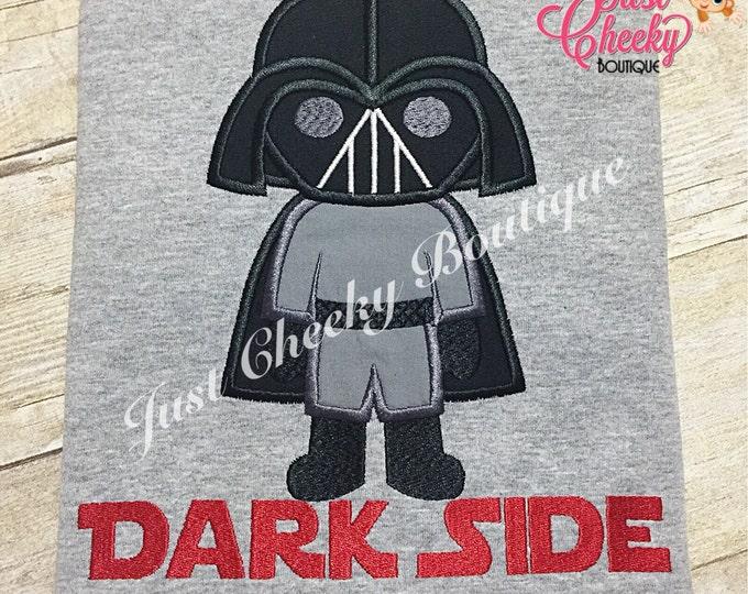 Darth Vader - Vader - Star Wars Inspired - Kids Embroidered Shirt - Force Friday Shirt - Star Wars Birthday Shirt