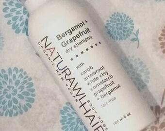 Bergamot + Grapefruit Organic Dry Shampoo