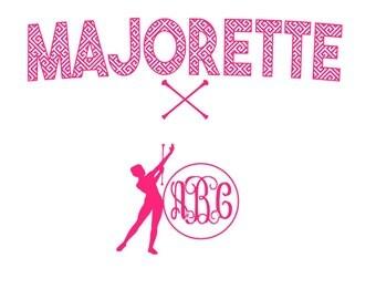 Majorette Jersey set Retro Print SVG Studio  Eps Png Pdf Vinyl cutting file