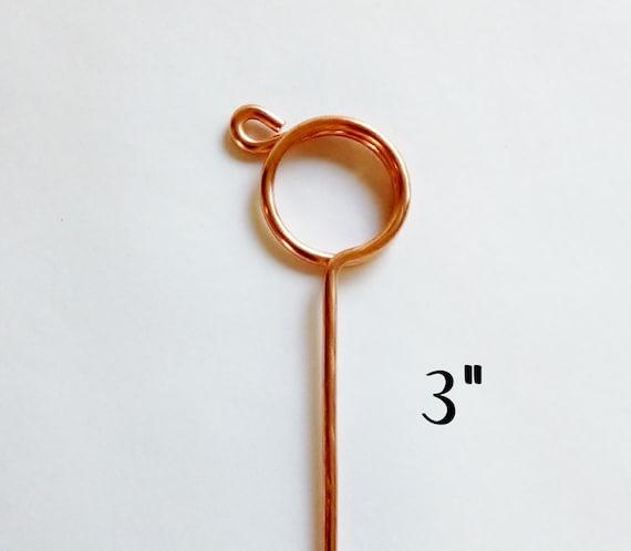 Copper Wire Bundle : Bundle of copper wedding place card wire by beachwalkerz