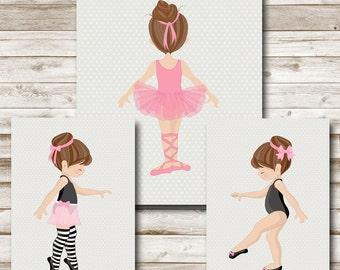 Ballerina Printable Ballet Print Ballerina Wall Art Ballerina Printable Wall Art Girls Bedroom Decor 8x10 5x7 Photography Prop