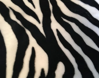 Made to order- Zebra print vest