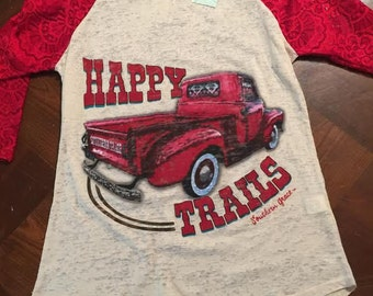 Southern Grace Happy Trails Shirt