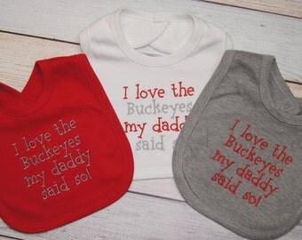 Ohio State Buckeyes - Ohio State Baby - Ohio State Baby Girl Boy - Ohio State Gifts - OSU Buckeyes Baby - Gift for Baby - OSU Fan