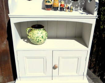 Shabby chic painted vintage cabinet cupboard