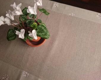 Table runner, pattern Provençal, ca.139 cm x 52 cm