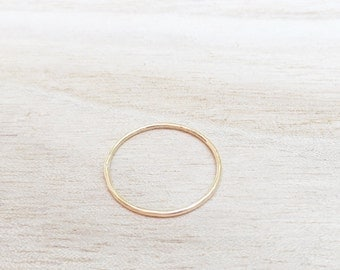 Rose gold whisper ring, thin rose gold stacking ring, thin rose gold ring, rose gold, rosegold, rosegold stacker, rosegold ring, skinny ring