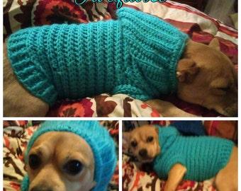Custom Made Pitbull Sweater with Hoodie