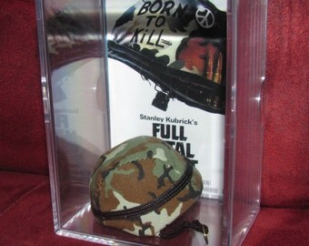 Full Metal Jacket Helmet Display ready to go..