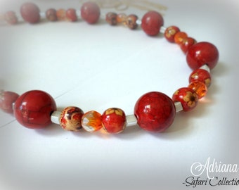 Blood Red Necklace