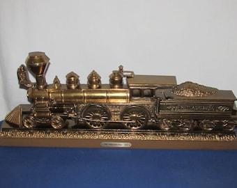 "BURWOOD TRAIN PLAQUE 1978 ""The Philadelphia 1871"""