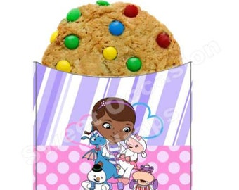 DOC McStuffins Cookie Sleeve Wrappers